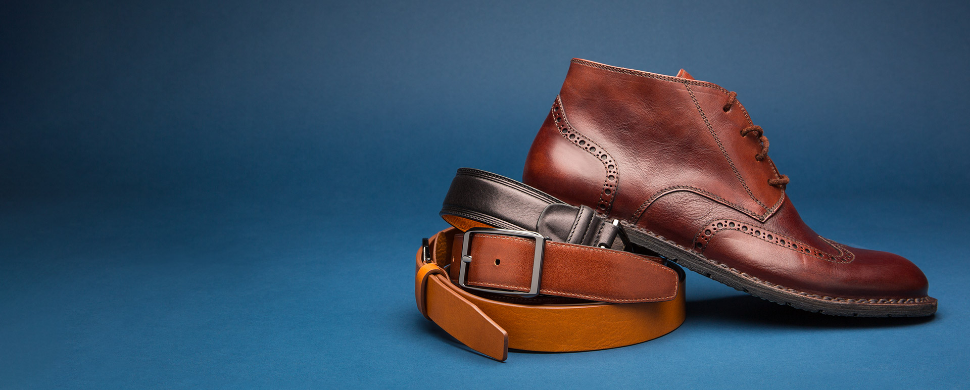 Leather Shoes & Belts