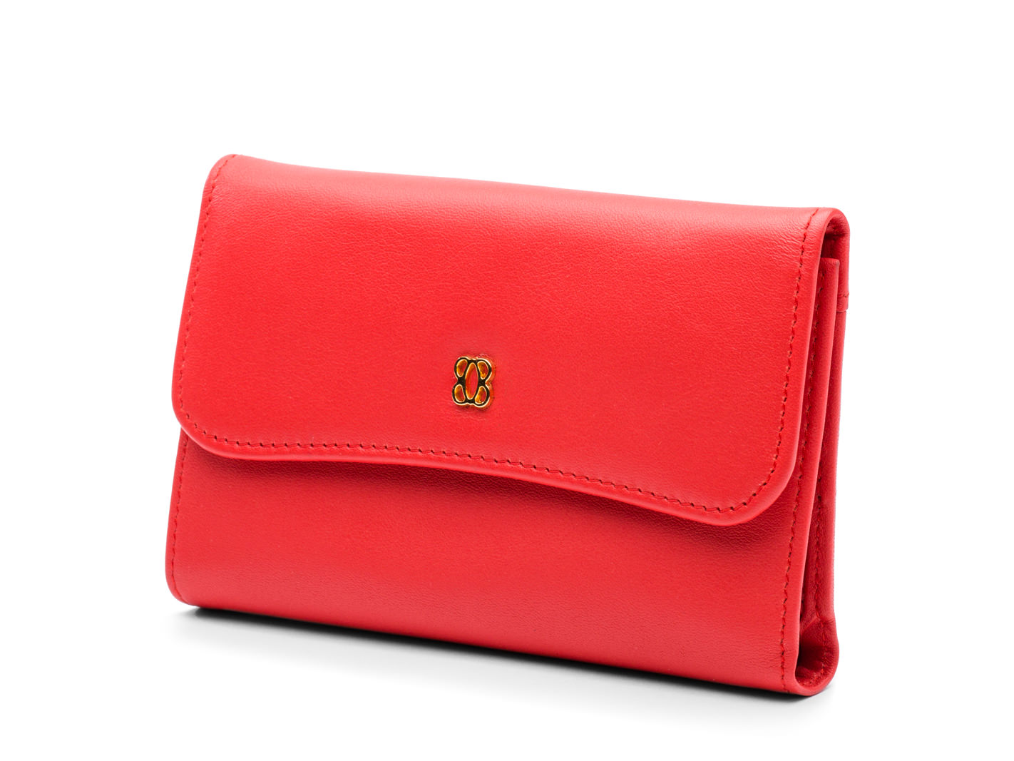 Coral ID French Purse-611 Coral - 611 Coral