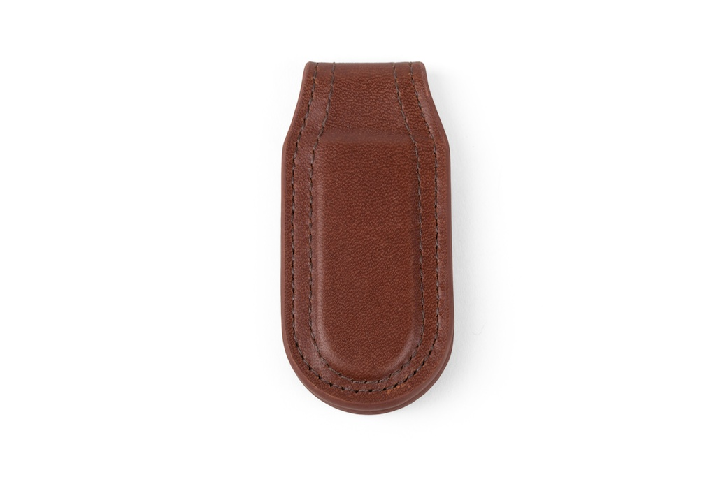 Magnetic Money Clip (Brown)