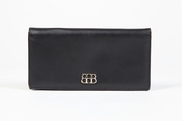 8 Pkt Vertical Wallet - 100 Black