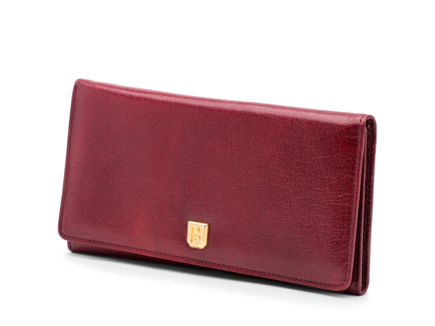 Oxblood 8 Pocket Vertical Wallet - 72 Oxblood