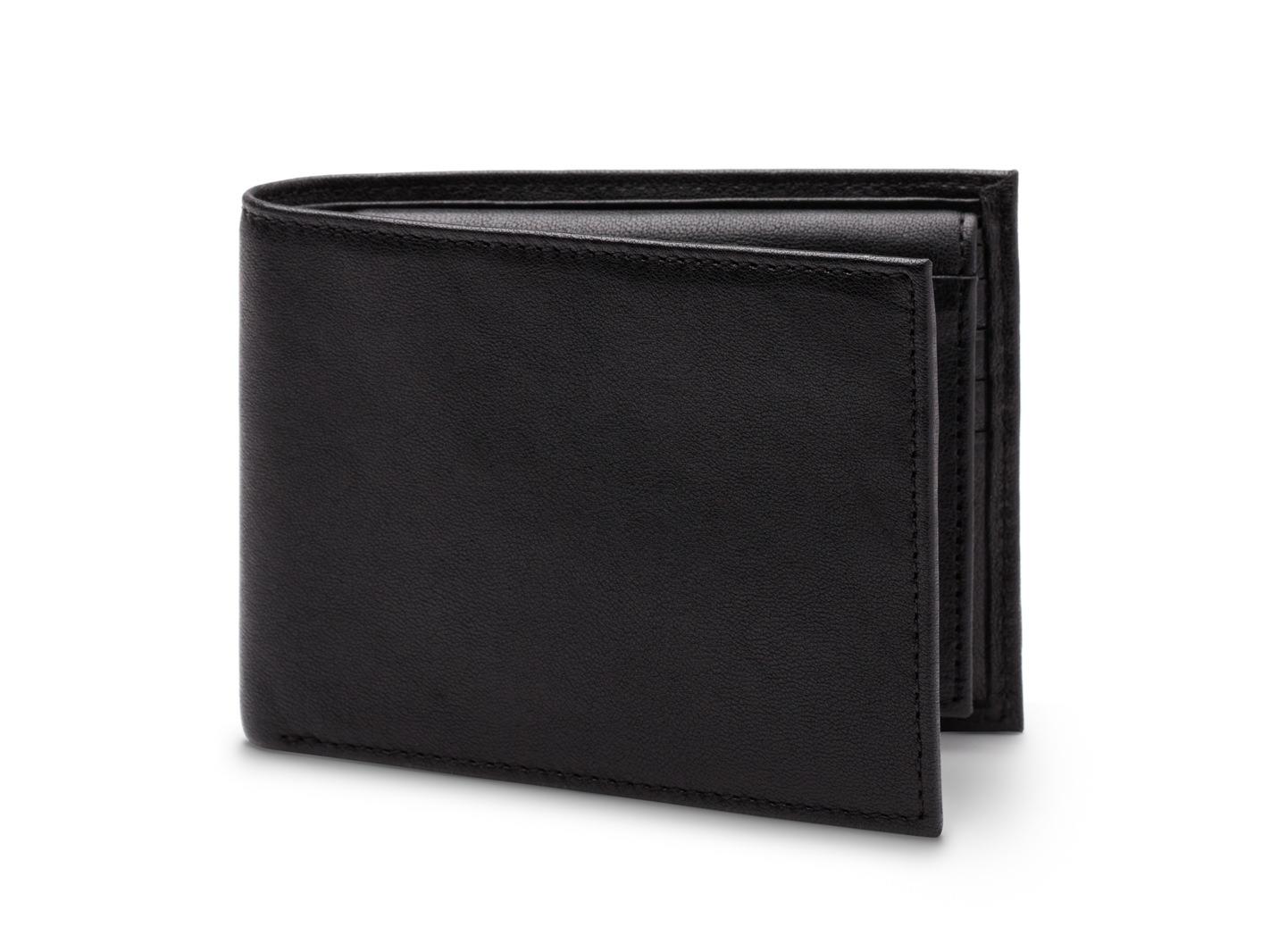 Credit Wallet w/I.D. Passcase - RFID-150 Black - 150 Black