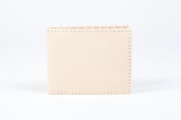 Credit Wallet with I.D. Passcase-178 Créme