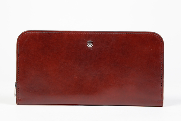 Large Snap Clutch - 58 Dark Brown