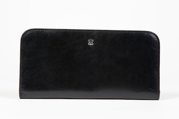 Large Snap Clutch - 59 Black