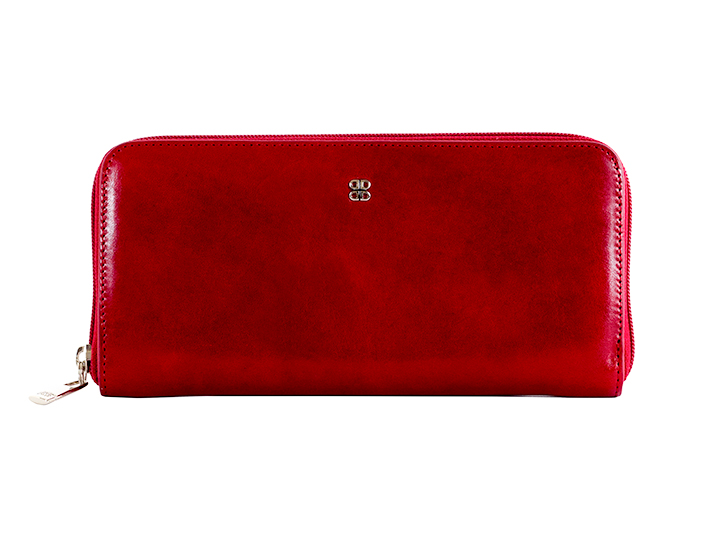 Zip Around Wallet-24 Brick Red - 24 Brick Red