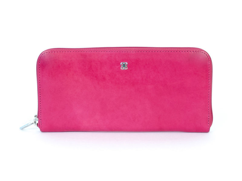 Zip Around Wallet-33 Fuchsia - 33 Fuchsia