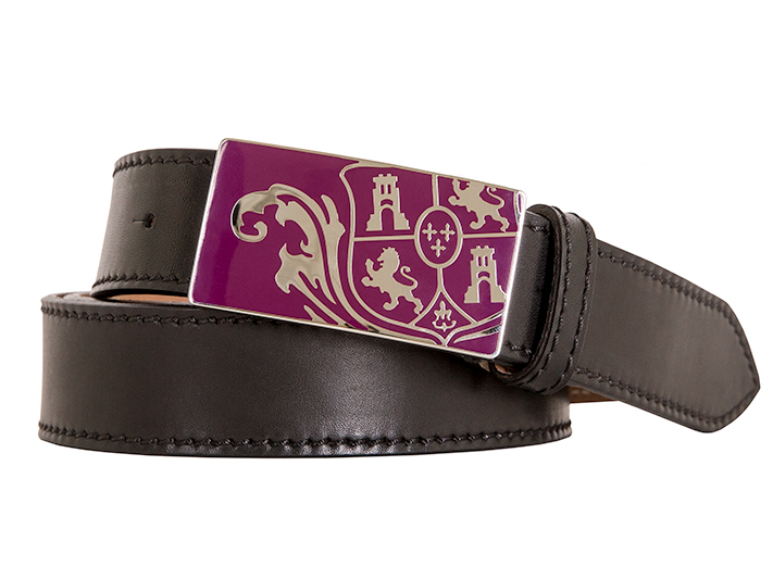 Bosca Crest Belt Buckle-200 Black-34 - 200 Black