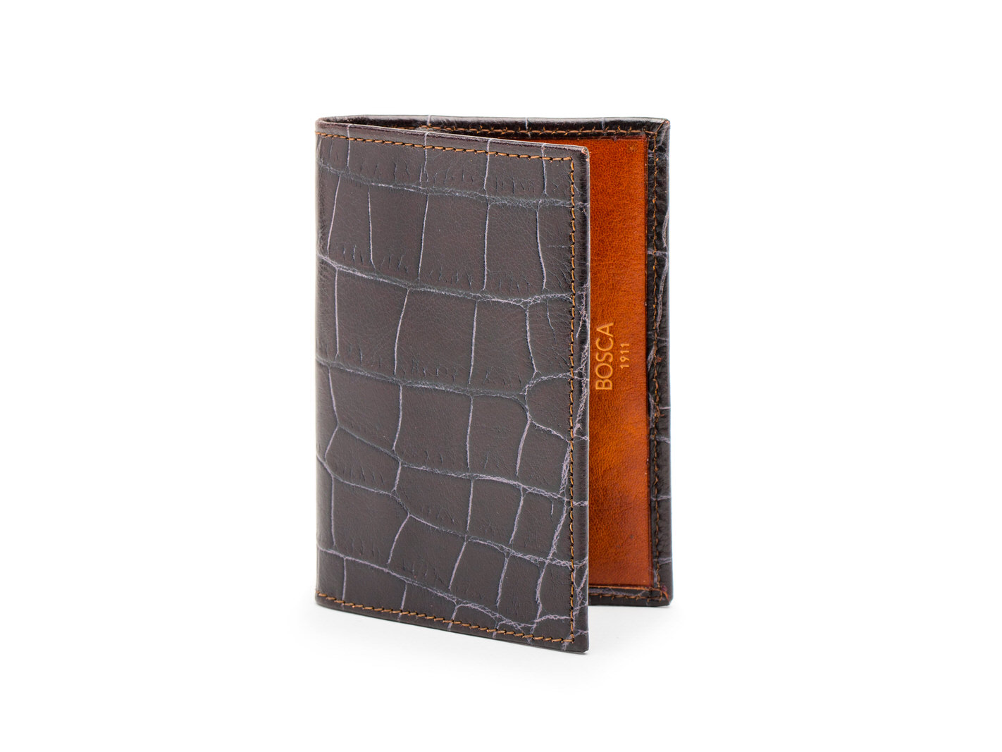 Calling Card Case-187 Brown/Amber - 187 Brown/Amber