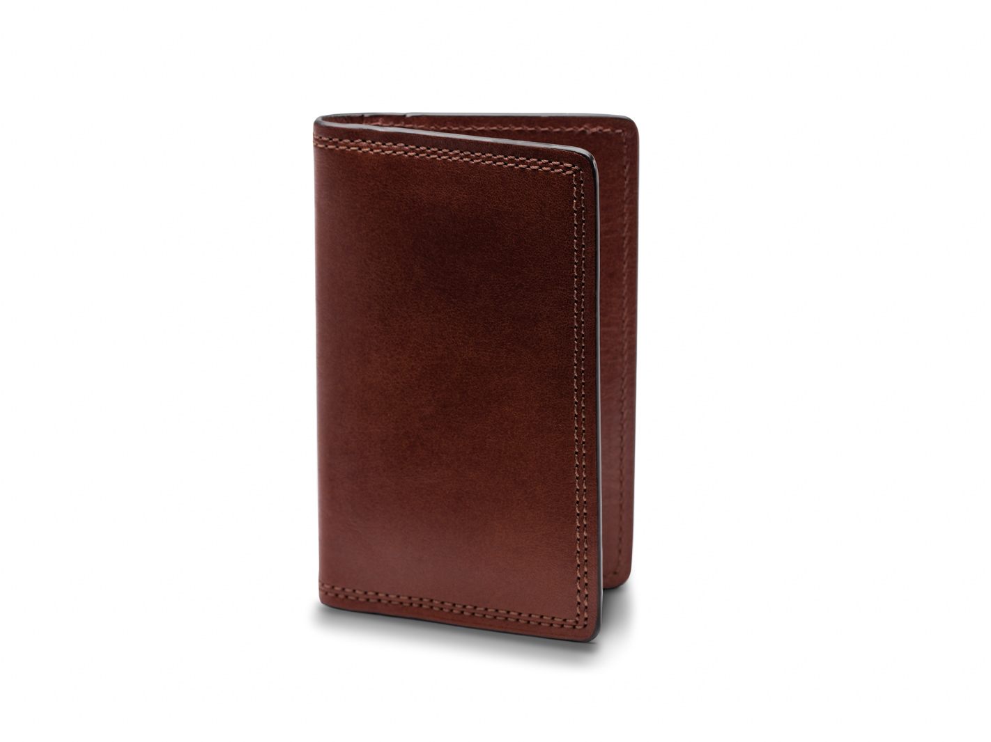 Calling Card Case-218 Dark Brown - 218 Dark Brown