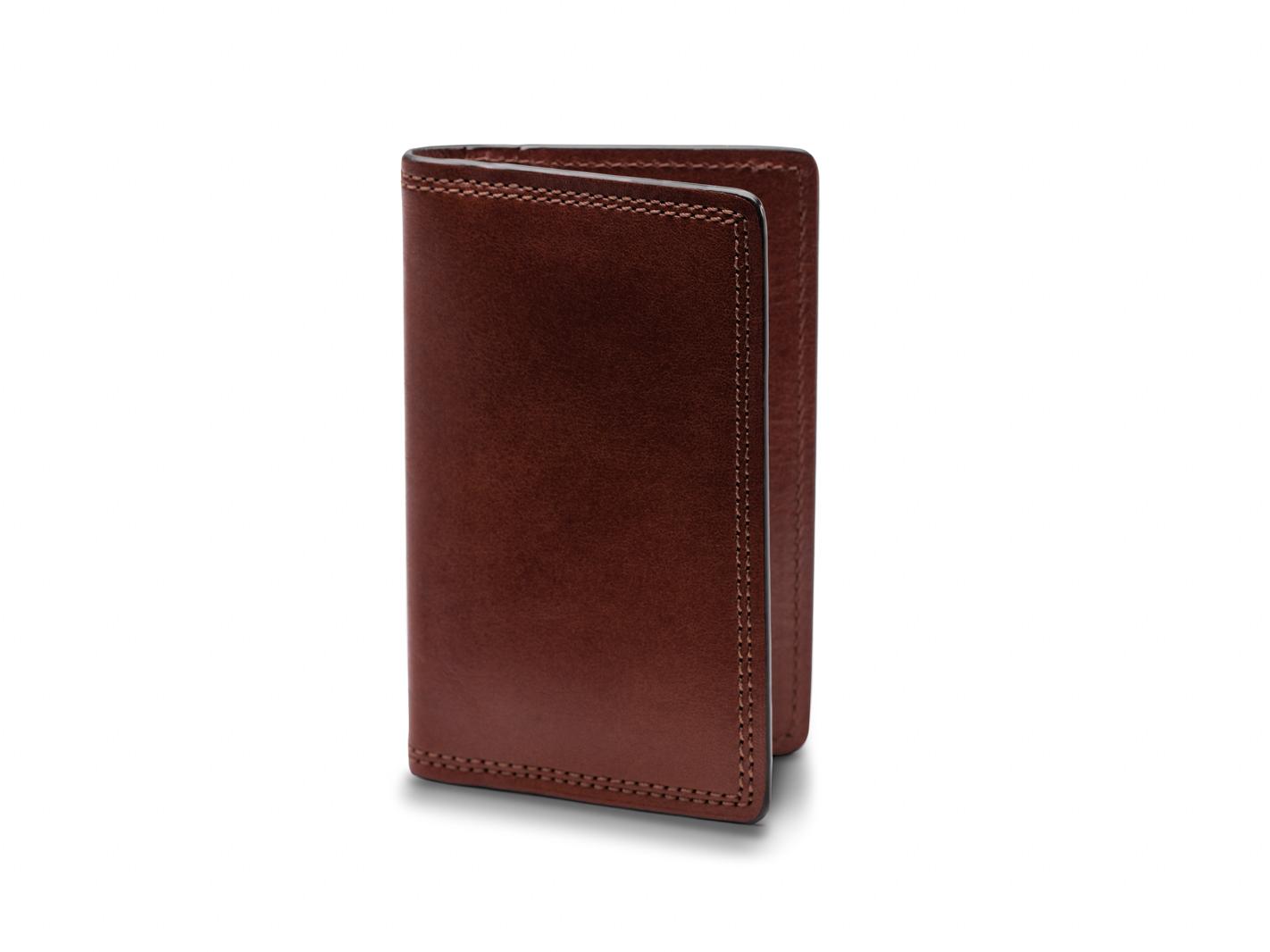 Calling Card Case-218 Dark Brown - 218 Dark Brown