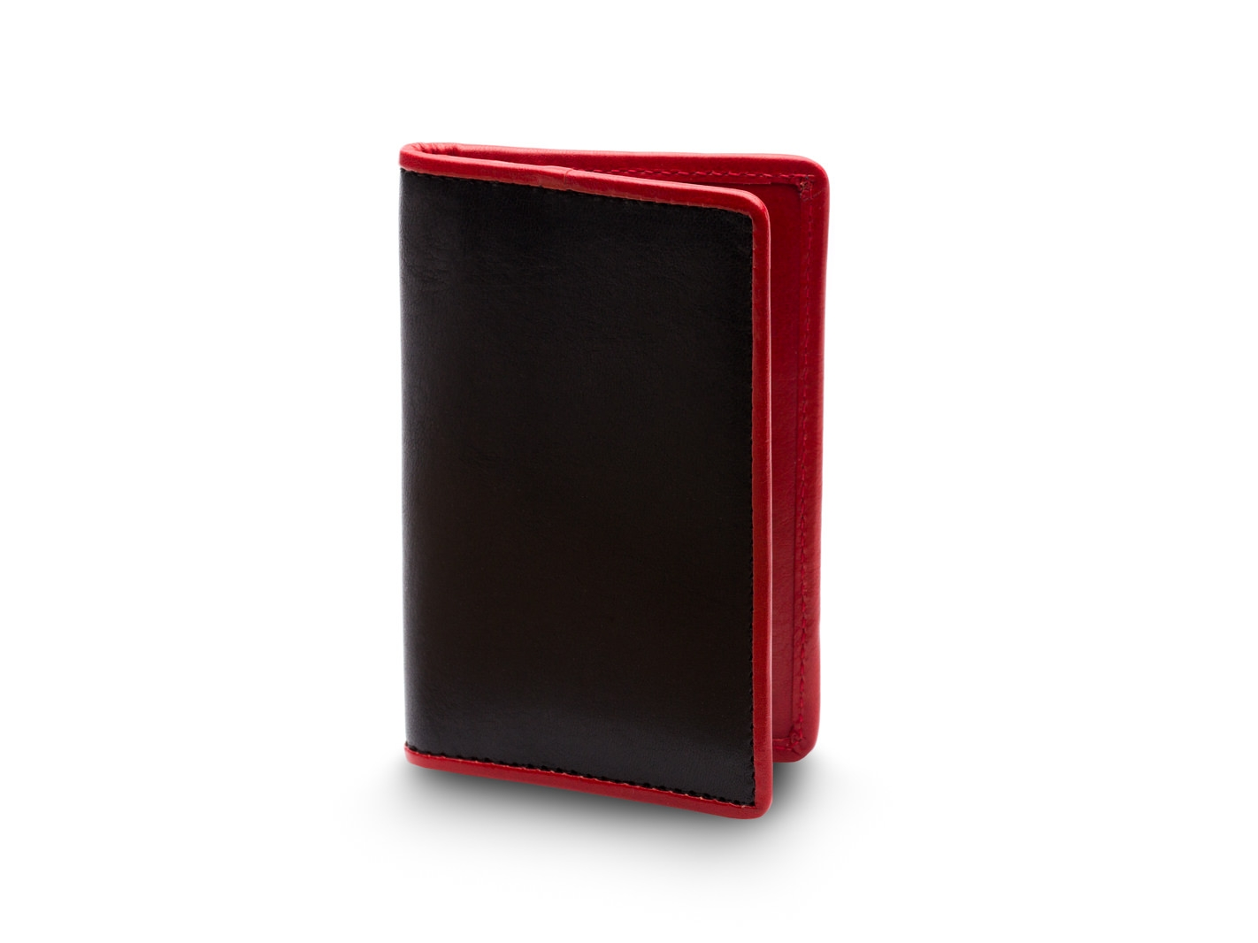 Calling Card Case-271 Black/Red - 271 Black/Red