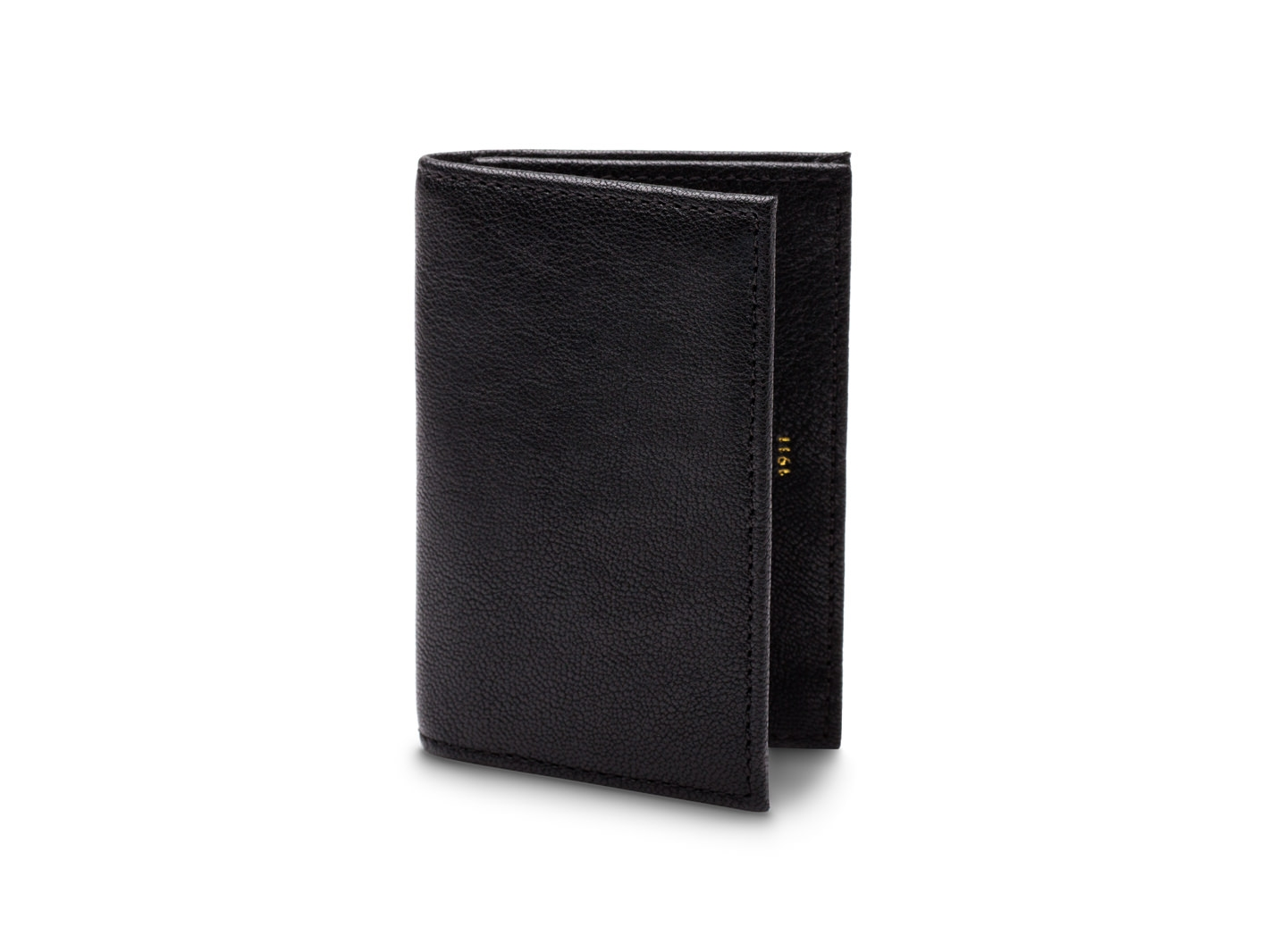 Full Gusset Card Case w/I.D.-150 Black - 150 Black