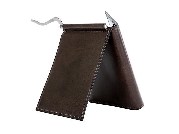 Money Clip w/Pocket-39 Teak