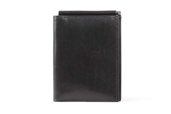 Money Clip W/Pocket - 59 Black