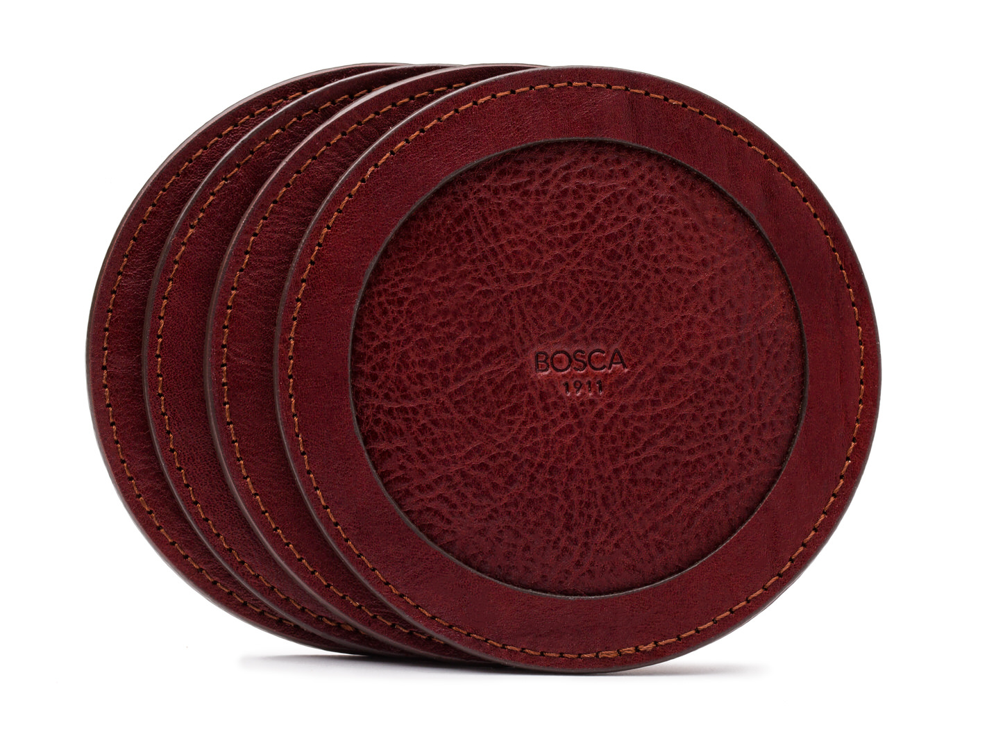 Round Coasters - Set of 4-97 Brown - 97 Brown