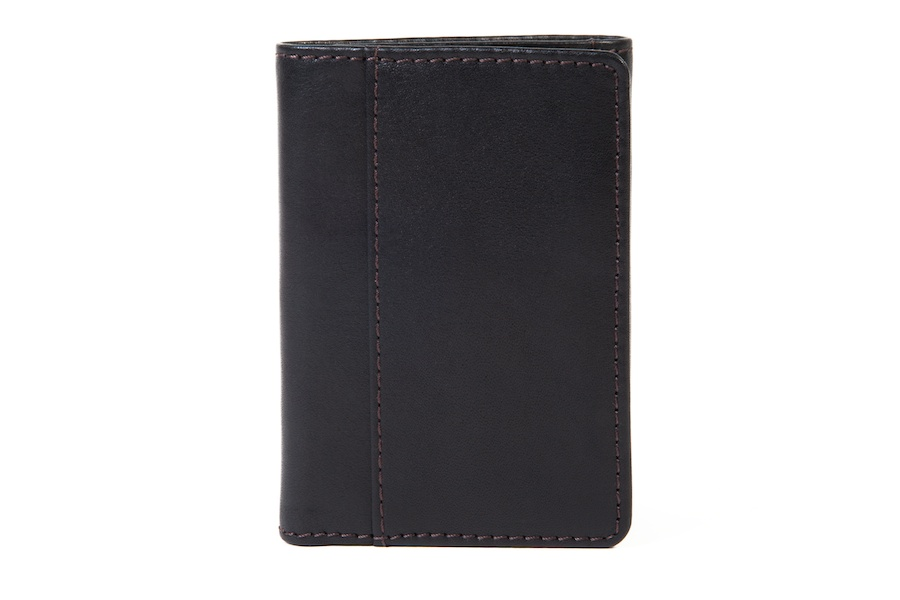 Single I.D. Trifold Wallet-224 Black