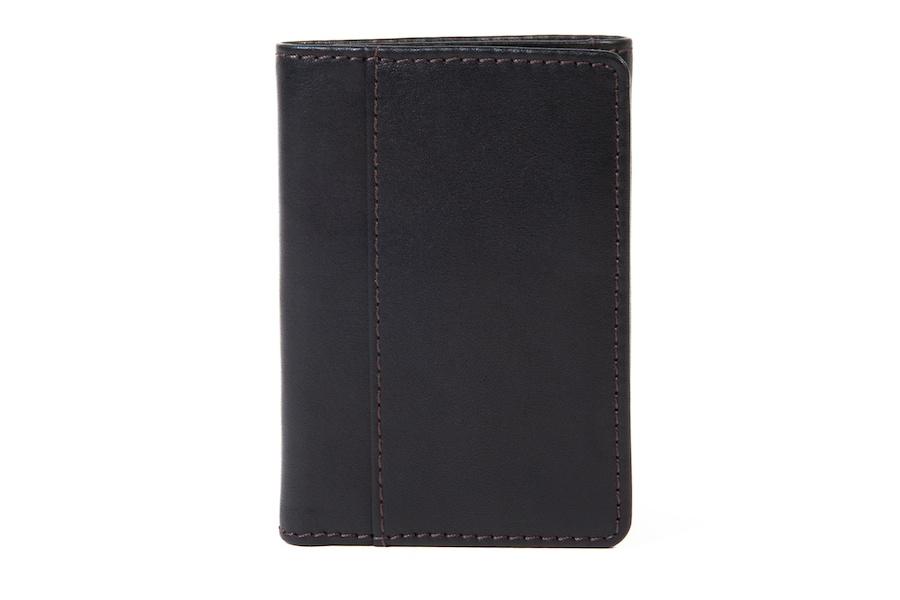 Single I.D. Trifold Wallet-224 Black