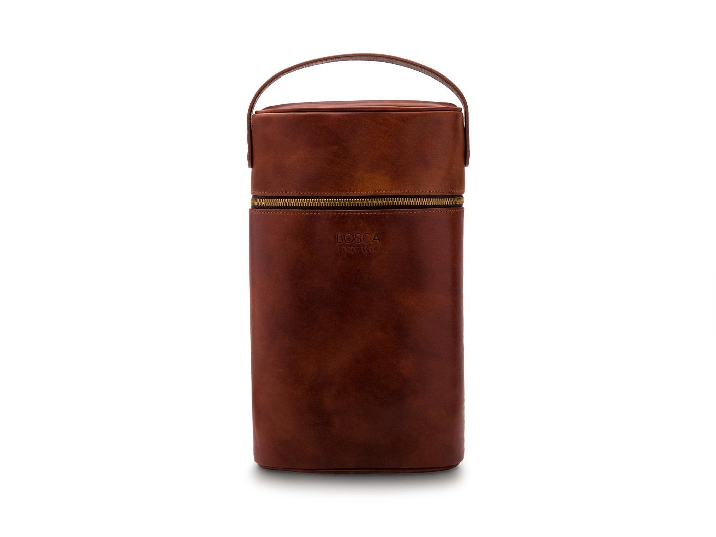 Two Bottle Wine Case-218 Dark Brown - 218 Dark Brown