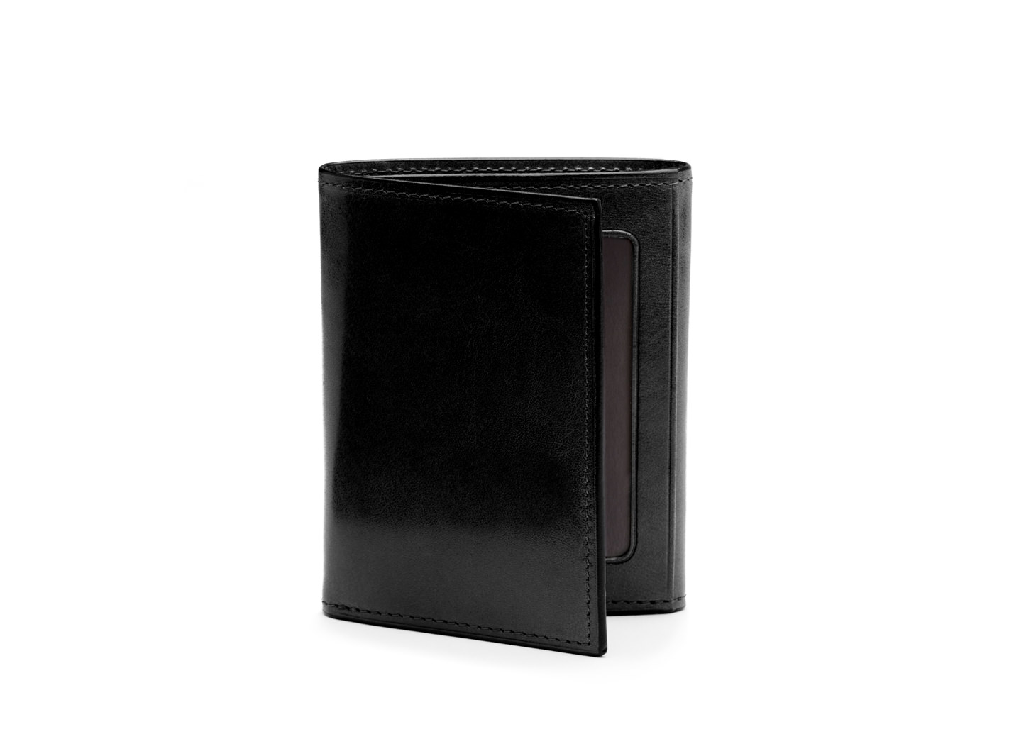 Double I.D. Trifold - 59 Black