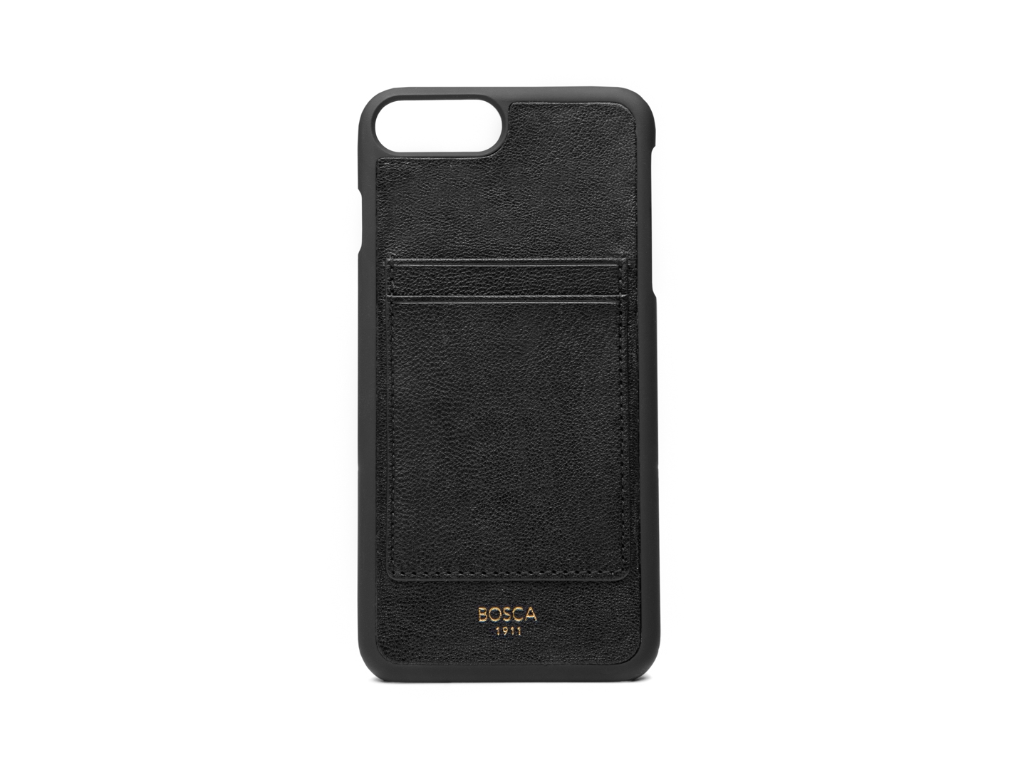 iPhone 8 Case with Card Slots on Back-150 Black - 150 Black