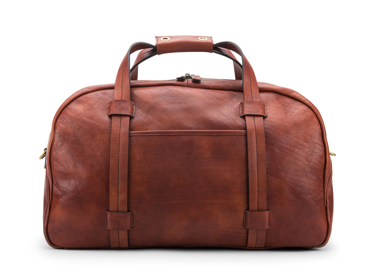 Vintage Duffle-158 Dark Brown - 158 Dark Brown
