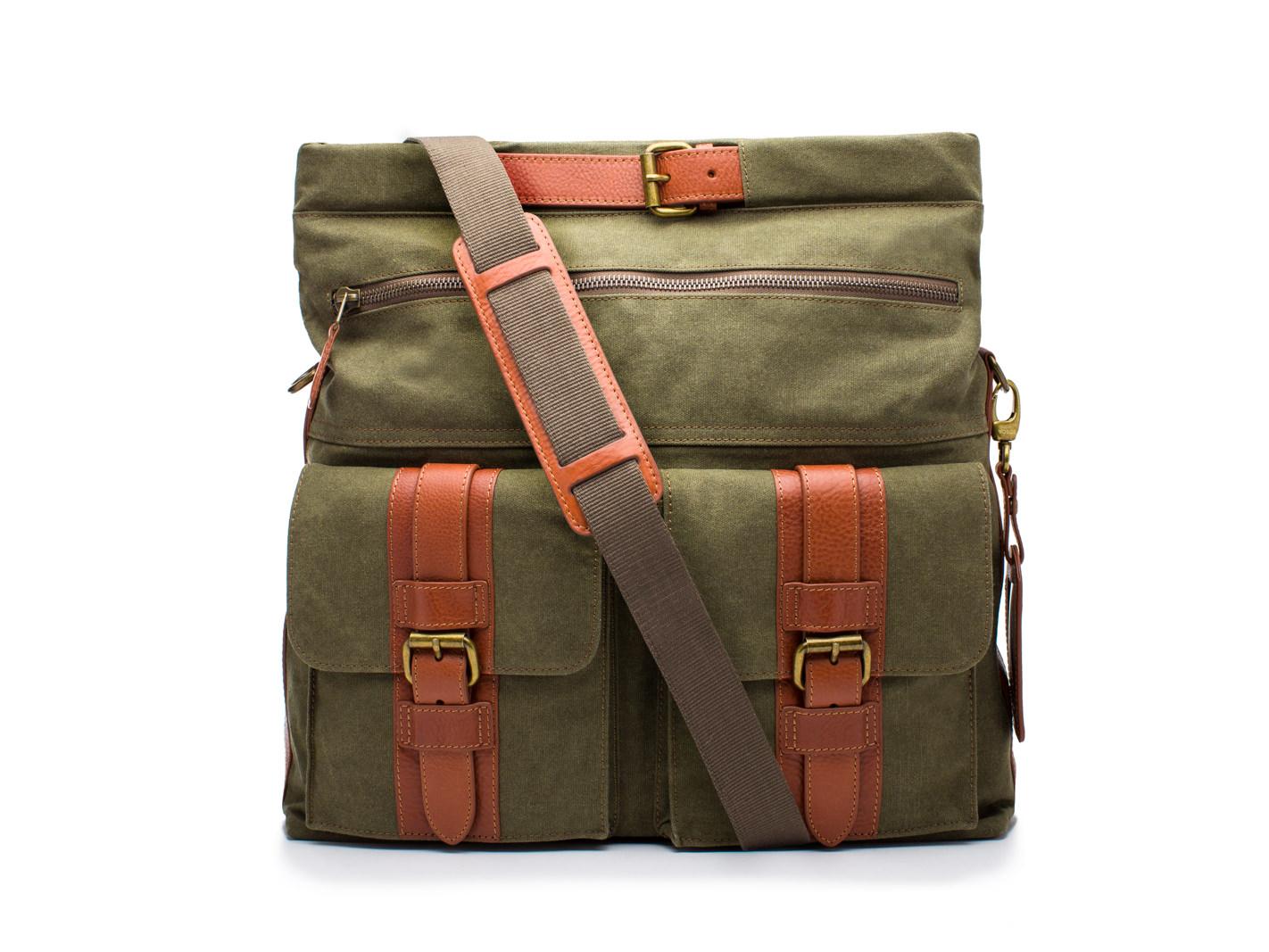 Explorer Bag-394 Chestnut / Olive - 394 Chestnut / Olive