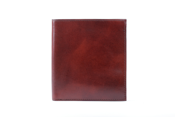 12 Pocket Credit Wallet - Dark Brown - Back Closed