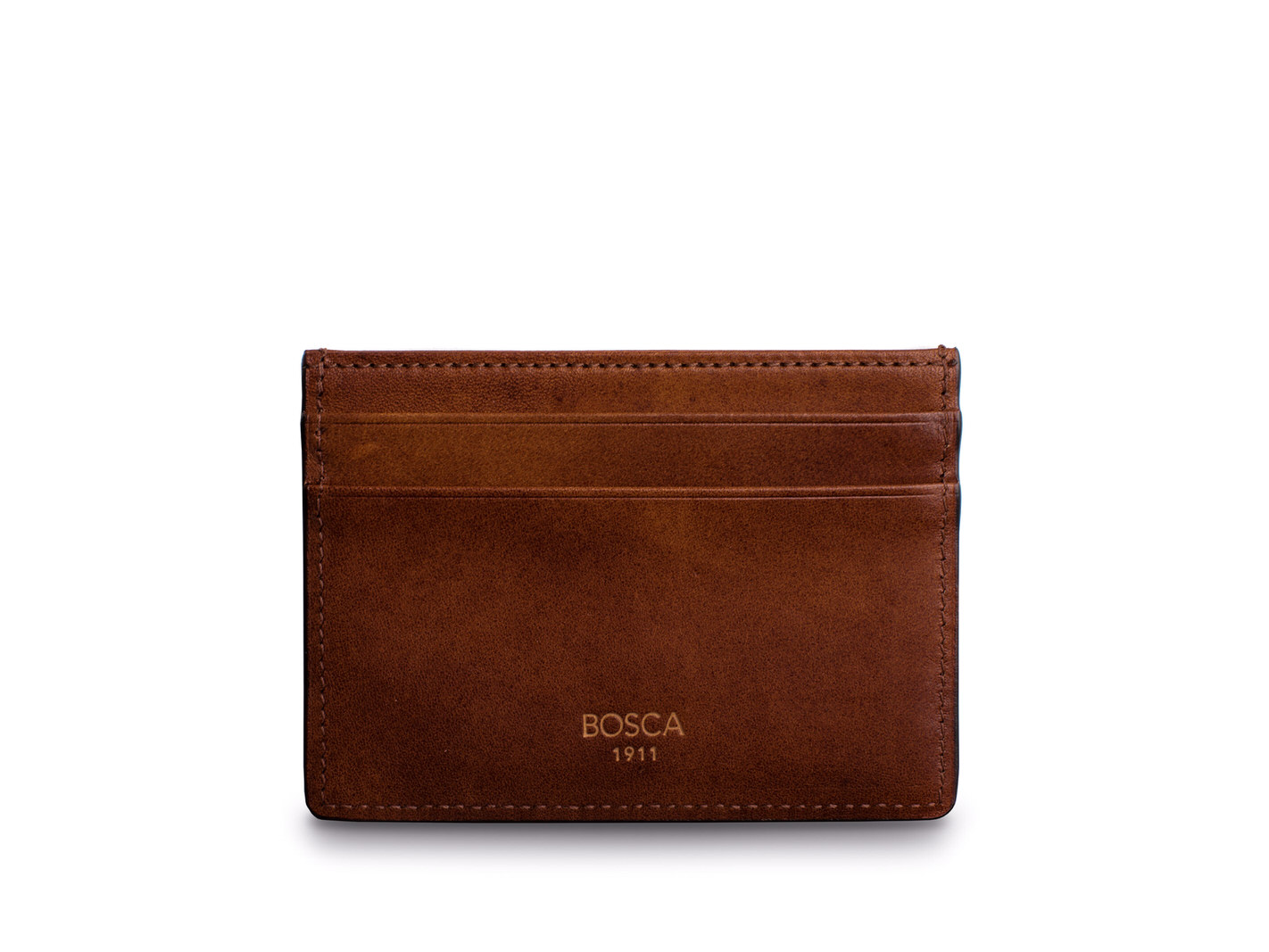 Easy-Access Card Wallet-218 Dark Brown - 218 Dark Brown