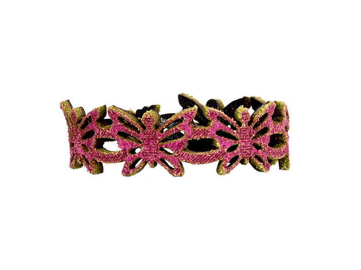 Butterfly Bracelet-352 Fucshia