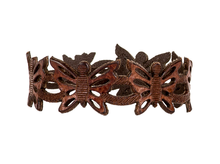 Butterfly Bracelet-658 Dark Brown - 658 Dark Brown