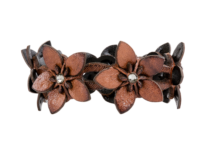 Dahlia Bracelet-658 Dark Brown