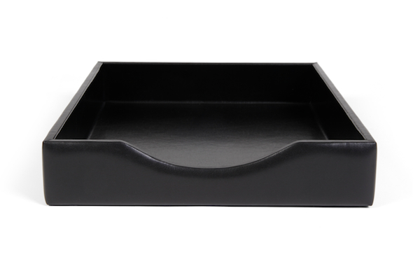 Letter Tray Without Lid - 100 Black