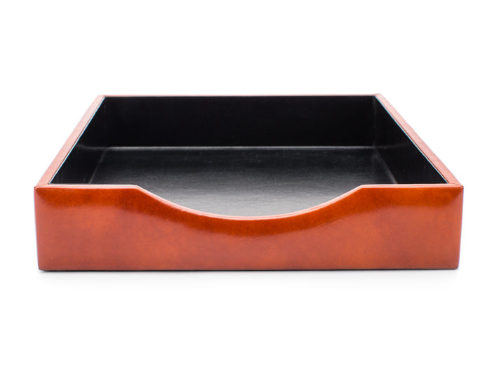 Letter Tray Without Lid-27 Amber - 27 Amber