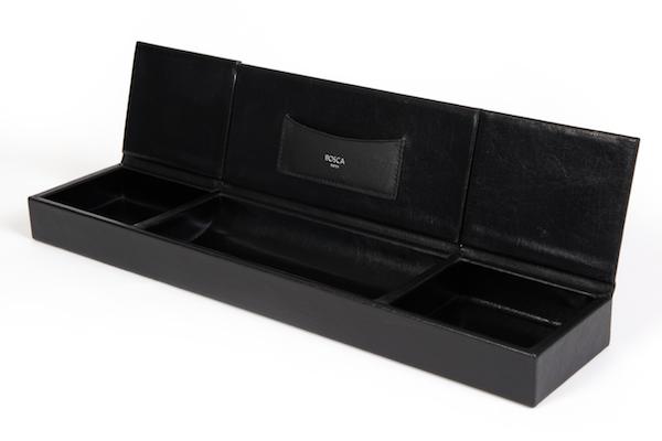 3 Compartment Desk Organizer - 100 Black