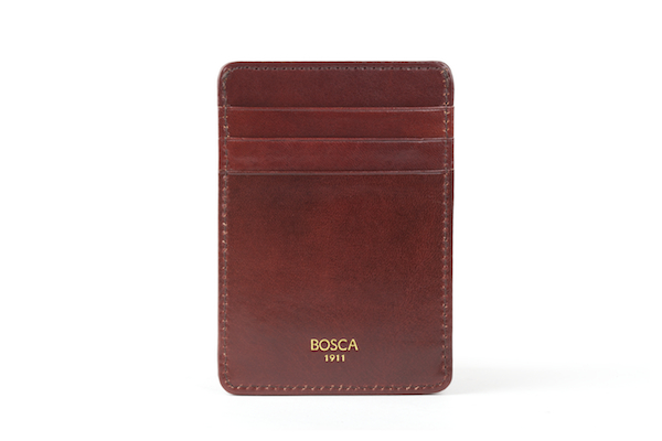 Front Pocket Wallet - 58 Dark Brown