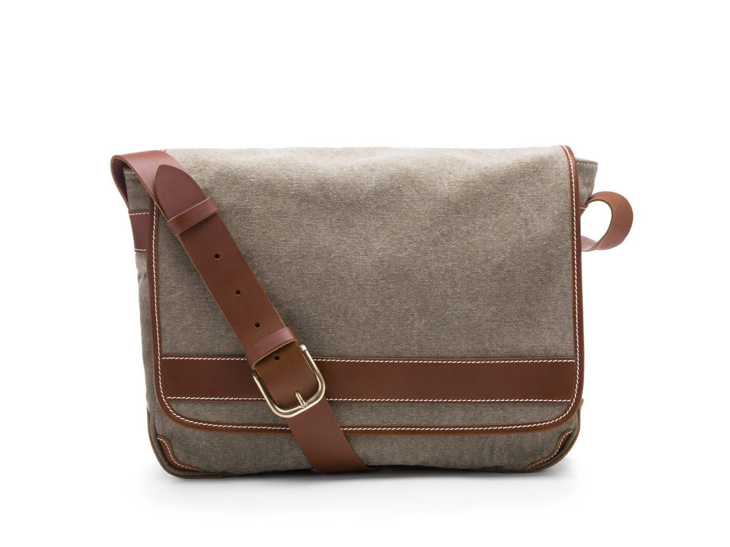 Tuscan Messenger Bag-373 Grey - 373 Grey