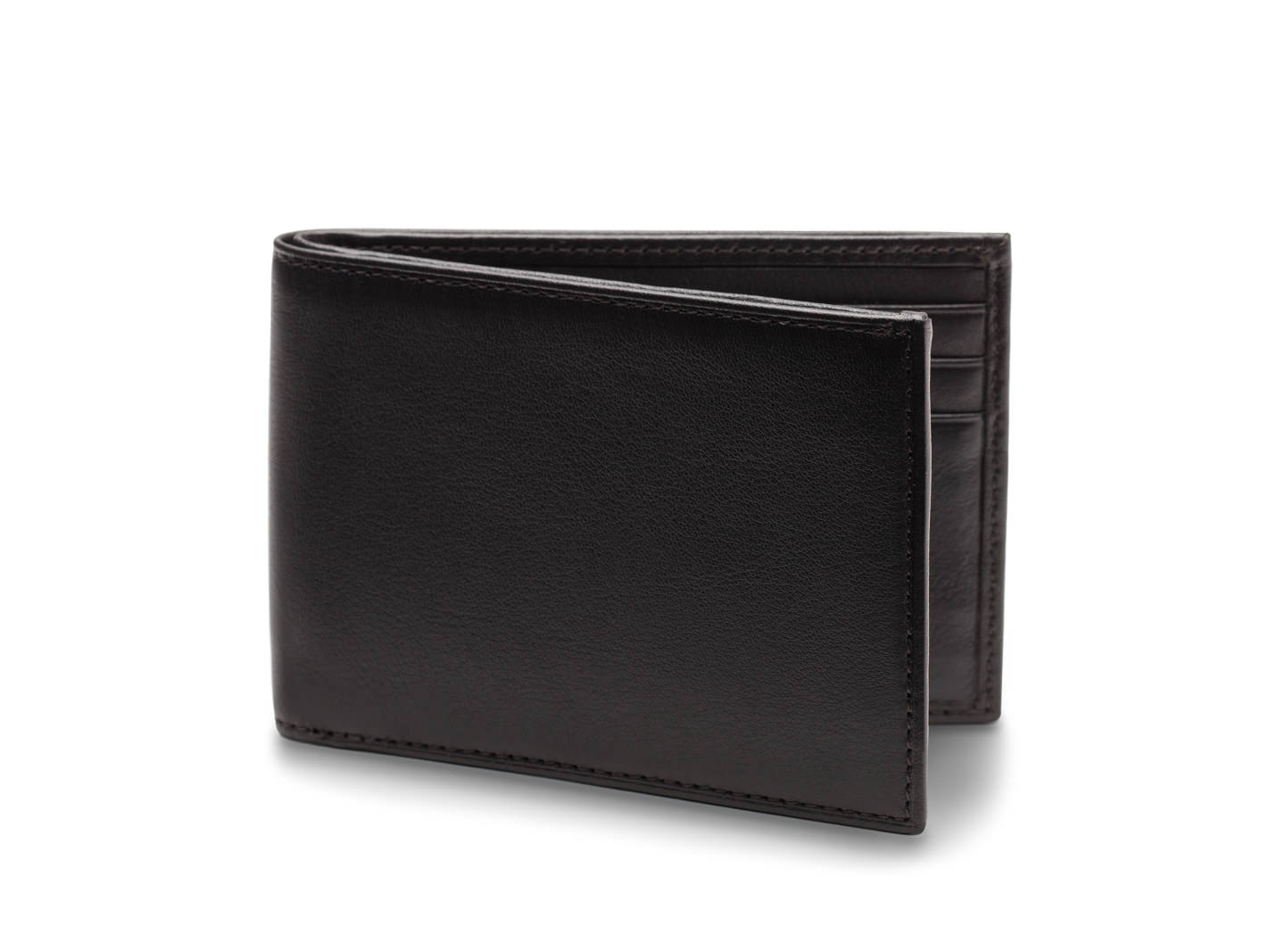 Small Bifold Wallet - 100 Black