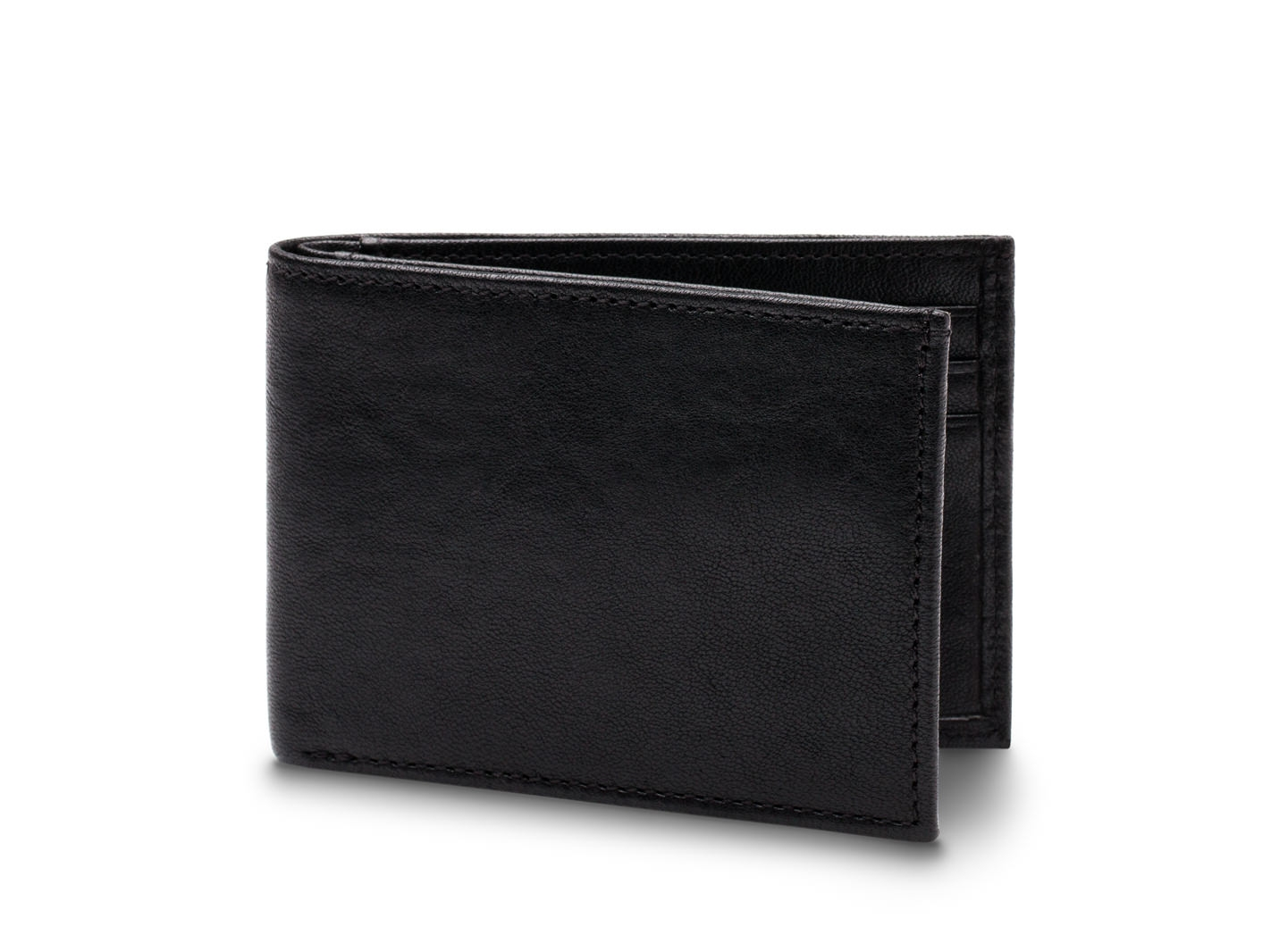 Small Bifold Wallet-150 Black - 150 Black