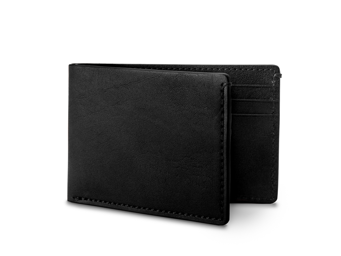 Small Bifold Wallet-159 Black - 159 Black
