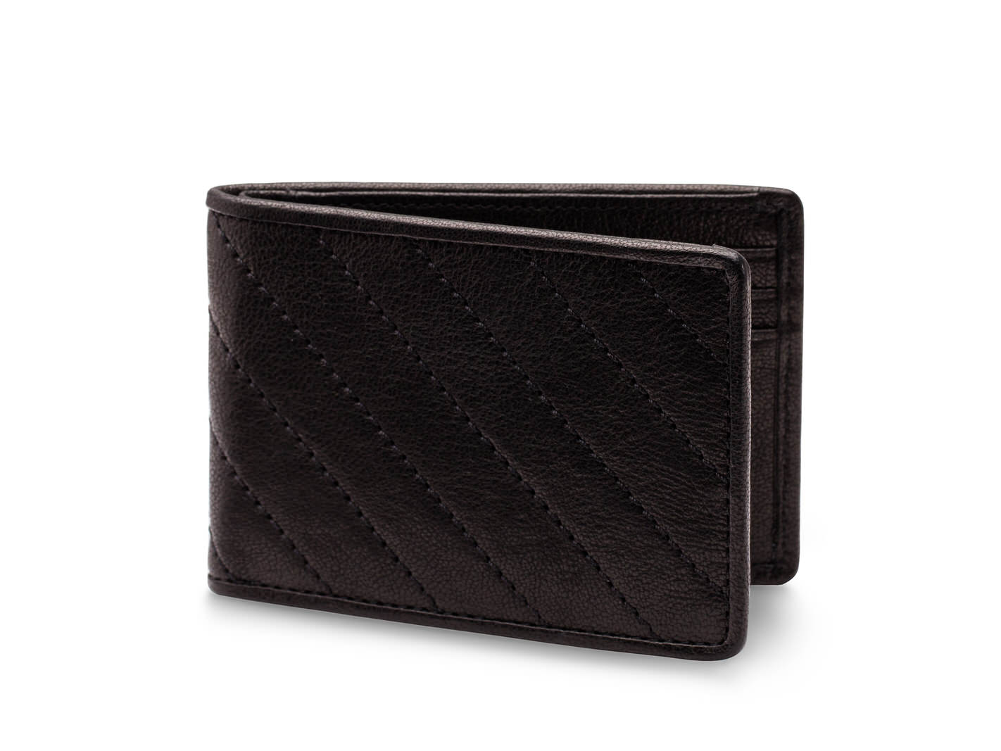 Small Bifold Wallet-160 Black - 160 Black