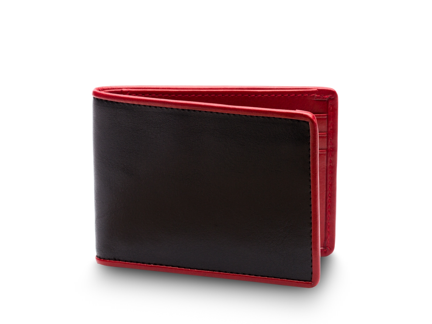 Small Bifold Wallet -271 Black/Red - 271 Black/Red