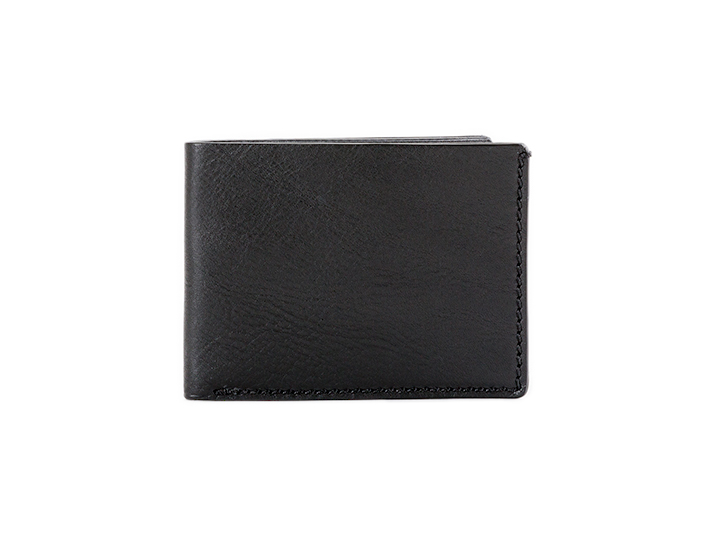 Small Bifold Wallet-659 Black