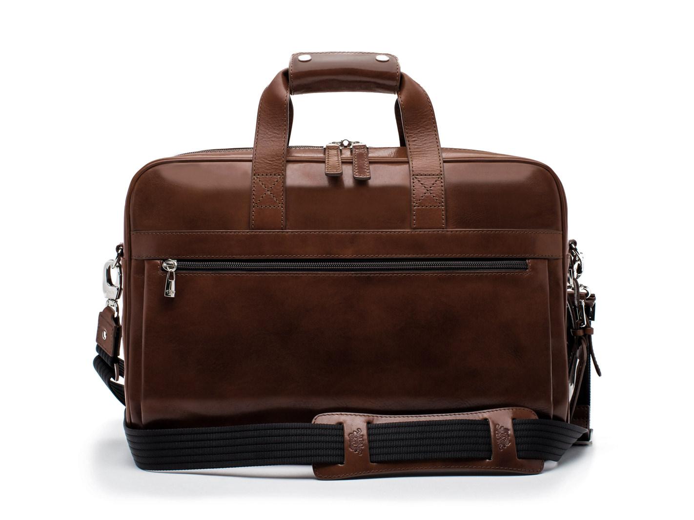 Single Gusset Stringer Bag - 39 Teak