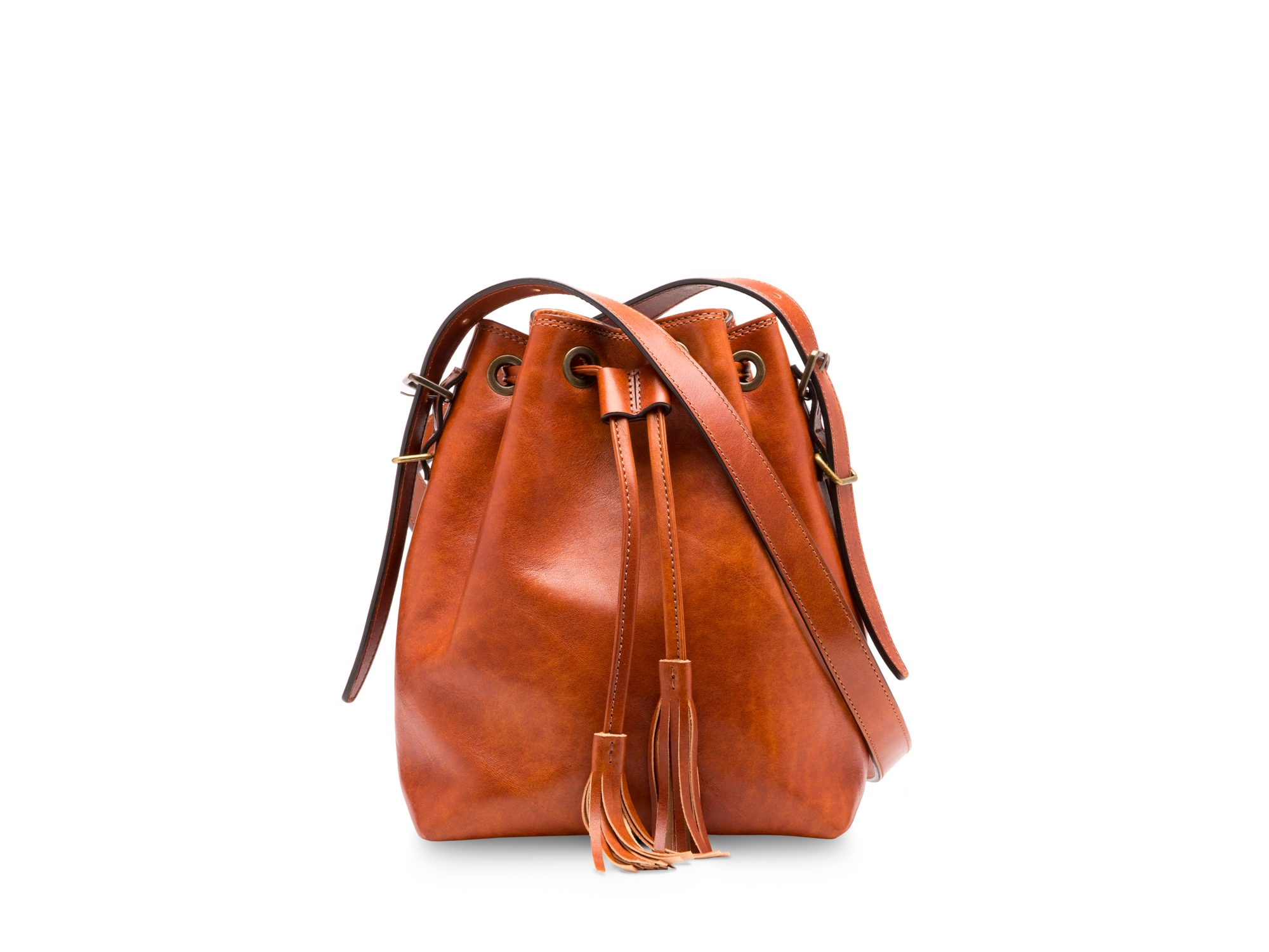 Mini Bucket Bag-217 Amber - 217 Amber