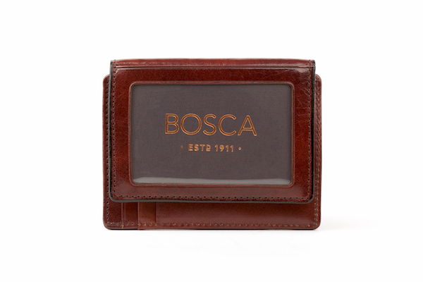 Front Pocket I.D. Wallet - 58 Dark Brown