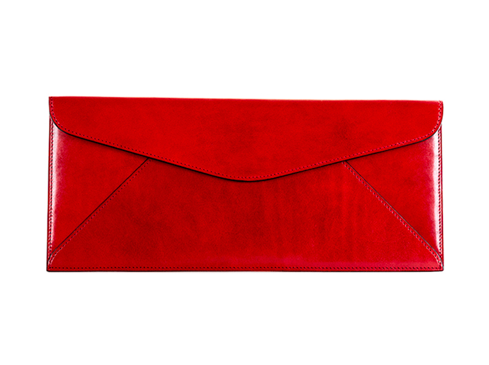 Leather Envelope-29 Red