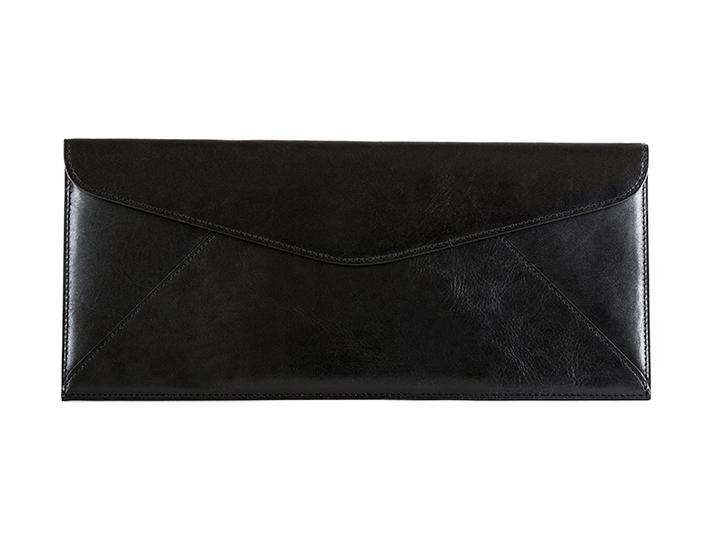 Leather Envelope-59 Black