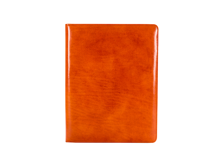8.5 x 11 Writing Pad Cover-36 Orange