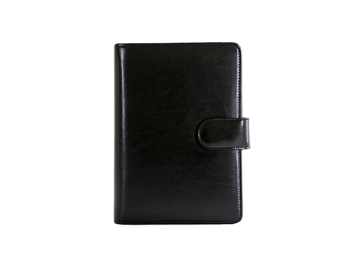 Address Book / Weekly Minder-59 Black